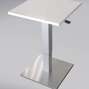 Picture: height adjustable table columns