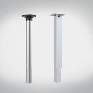 Pneumatic 1 Leg Table Columns