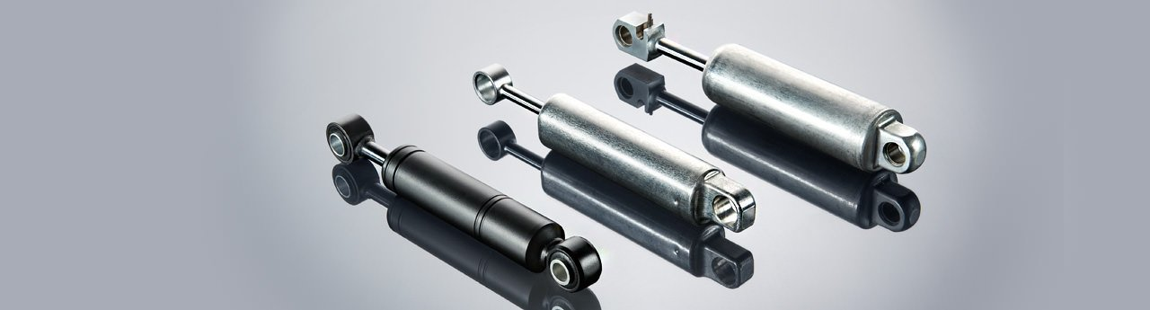 Lightweight dampers for the aviation sector