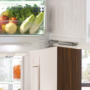 Household appliances, such as refrigerators, close gently with soft-closing dampers from SUSPA