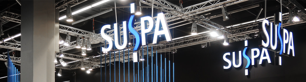 SUSPA trade fair stand