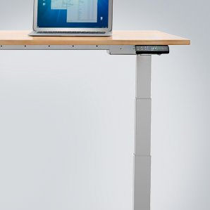 New versions of electric lifting columns and table adjustment systems
